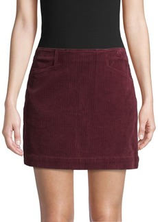 AG Adriano Goldschmied Textured Corduroy Skirt