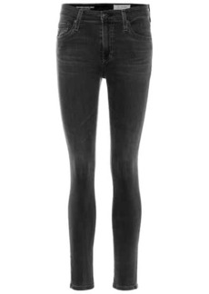 AG Adriano Goldschmied The Farrah high-rise skinny jeans
