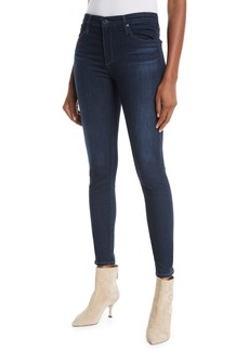 AG Adriano Goldschmied The Farrah High-Rise Skinny Jeans  Brooks