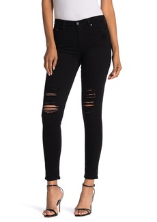 AG Adriano Goldschmied The Farrah High Waist Ankle Skinny Faux Leather Pants