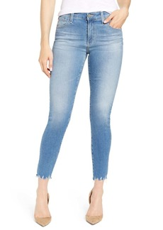 AG Adriano Goldschmied The Farrah High Waist Ankle Skinny Jeans (10 Years Illustrated) (Nordstrom Exclusive Color)