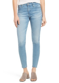 AG Adriano Goldschmied The Farrah High Waist Crop Skinny Jeans