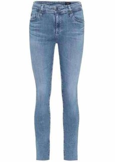 AG Adriano Goldschmied The Farrah mid-rise skinny jeans