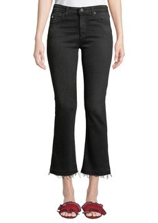 AG Adriano Goldschmied The Jodi High-Rise Slim Flare Crop Jeans