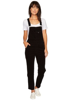 AG Adriano Goldschmied The Leah Overalls in Super Black