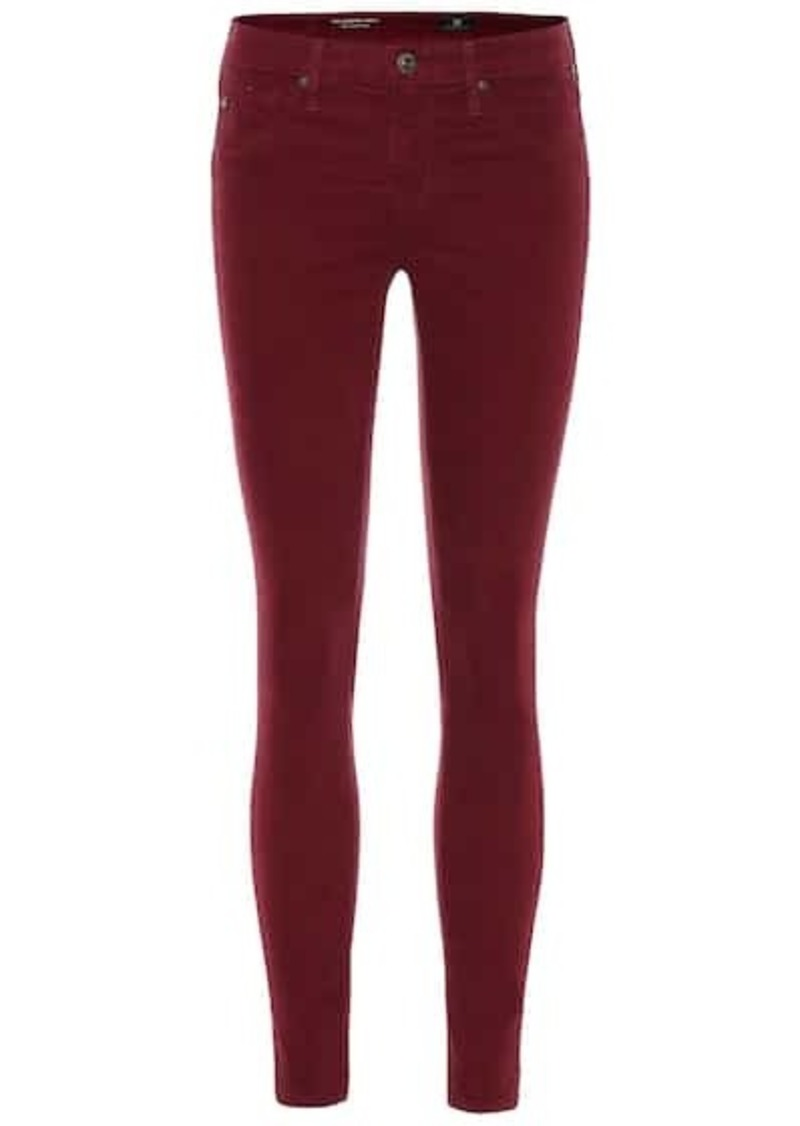 AG Adriano Goldschmied The Legging Ankle corduroy skinny jeans