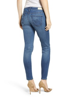 AG Adriano Goldschmied The Legging Ankle Super Skinny Jeans (9 Year Universal Mended)