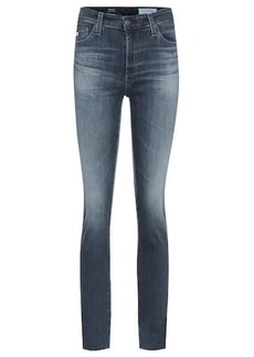AG Adriano Goldschmied The Mari high-rise slim jeans