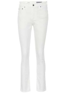 AG Adriano Goldschmied The Mari high-rise straight jeans