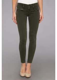 AG Adriano Goldschmied The Moto Legging in Sulfur Dark Autumn Olive
