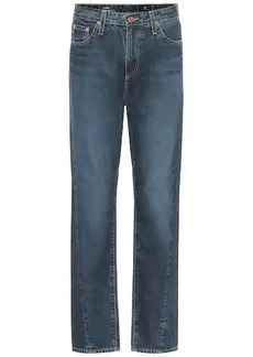 AG Adriano Goldschmied The Phoebe high-rise straight jeans