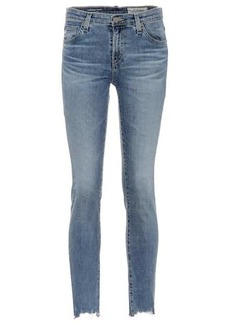 AG Adriano Goldschmied The Prima Ankle mid-rise skinny jeans