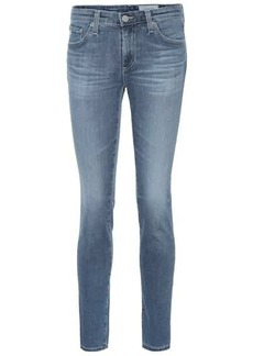 AG Adriano Goldschmied The Prima low-rise skinny jeans