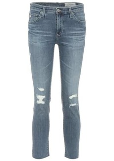 AG Adriano Goldschmied The Prima mid-rise skinny jeans