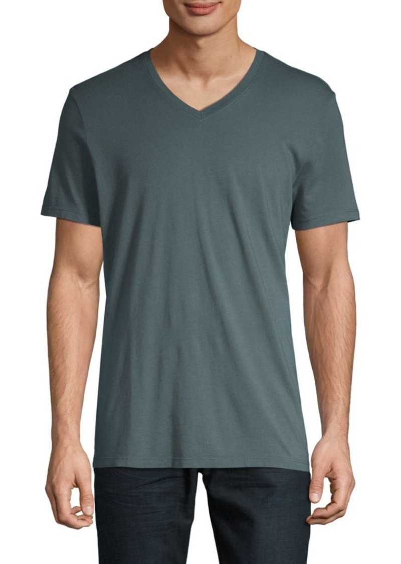 AG Adriano Goldschmied V-Neck Jersey Tee