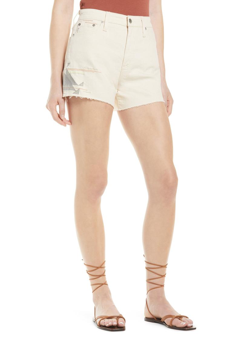 Women's Ag Alexxis High Waist Cutoff Denim Shorts