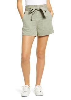 AG Adriano Goldschmied Women's Ag Kai Paperbag Waist Shorts