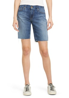 AG Adriano Goldschmied Women's Ag Nikki Relaxed Bermuda Shorts