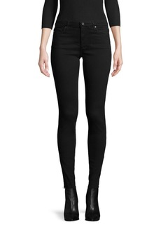AG Adriano Goldschmied Zip-Fly Ankle-Length Jeans