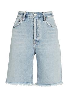 Agolde 90s Pinch Waist Bermuda Shorts