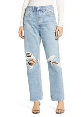 AGOLDE '90s Ripped Loose Fit Jeans (Fall Out)