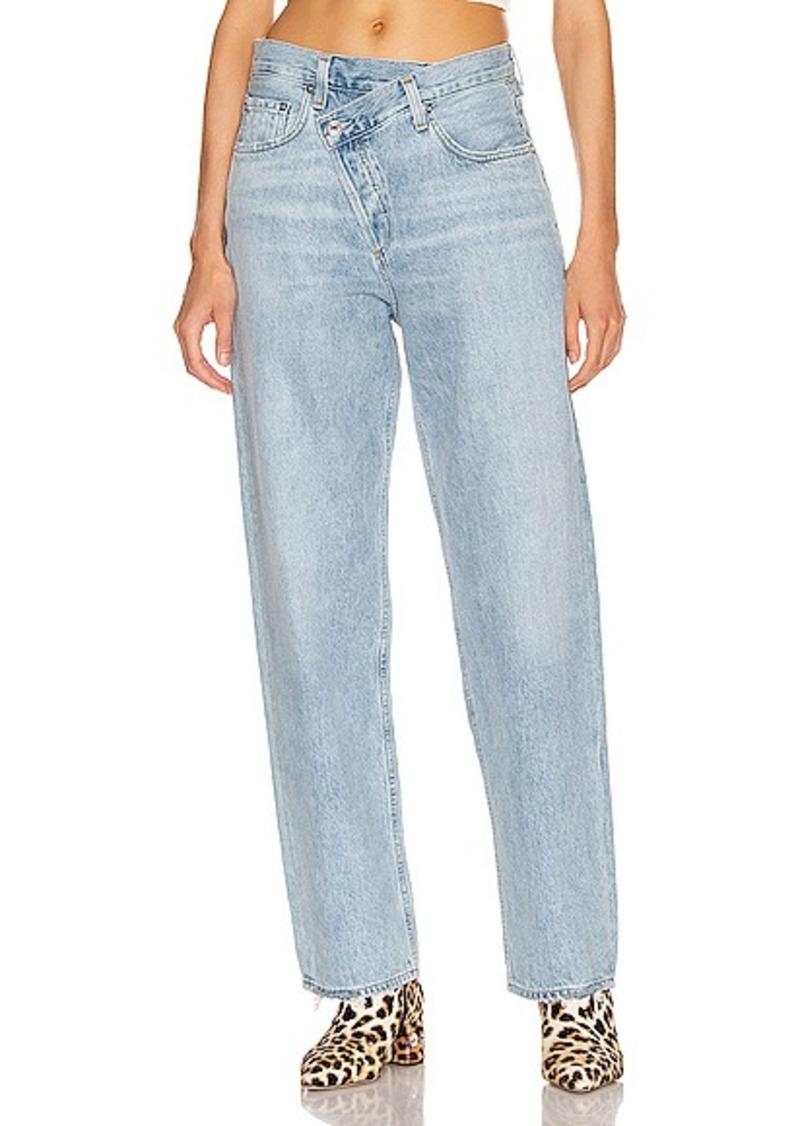 AGOLDE Criss Cross Upsized Jean