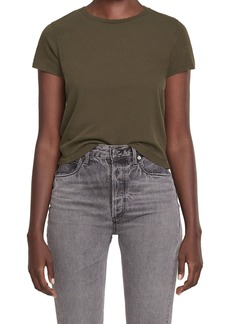 AGOLDE Linda Boxy Organic Cotton T-Shirt