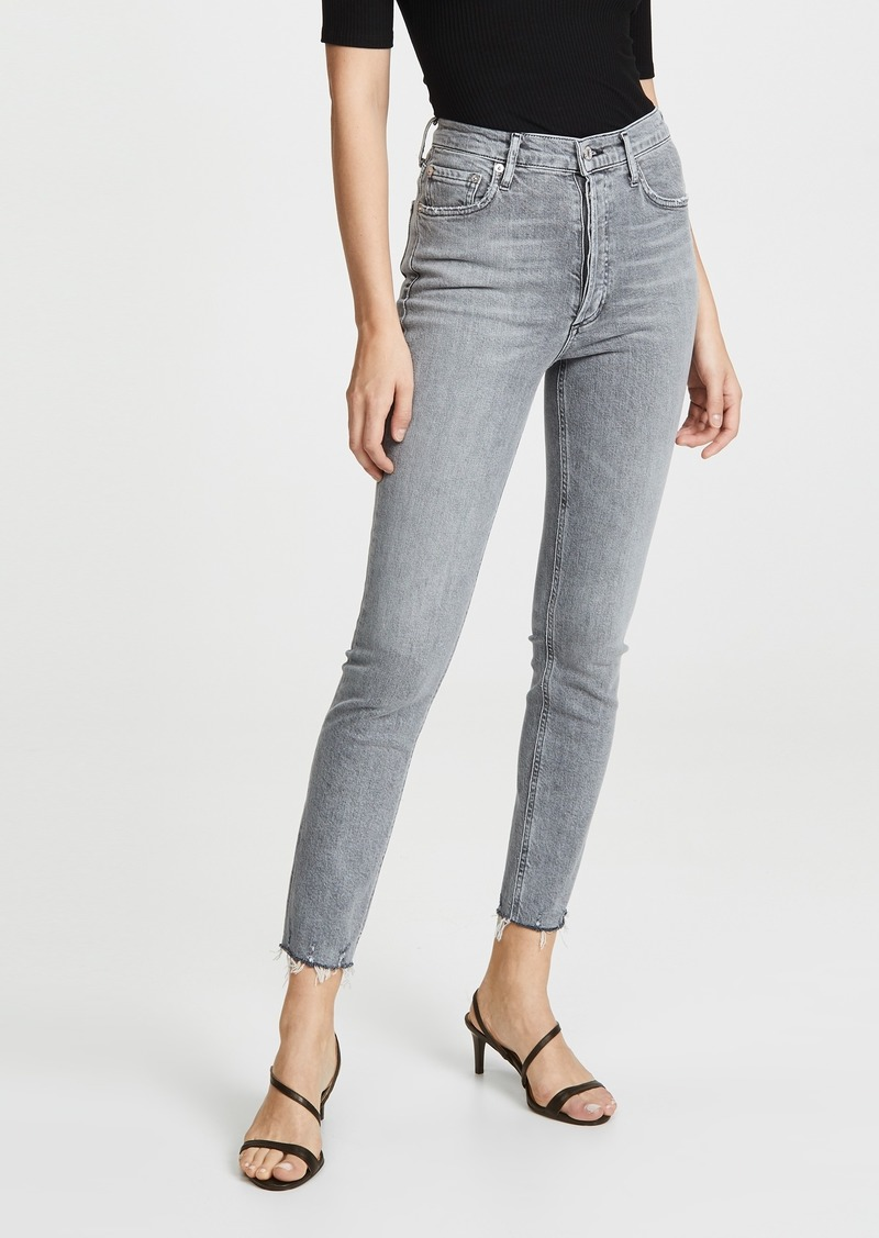 AGOLDE Nico High Rise Slim Jeans