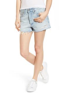 AGOLDE Parker Distressed Denim Shorts (Broken)