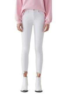 AGOLDE Sophie High Rise Crop Skinny Jeans in Sanction