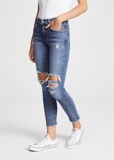 e531985d412c Agolde AGOLDE Nico High Waist Crop Slim Fit Jeans (Subdued)