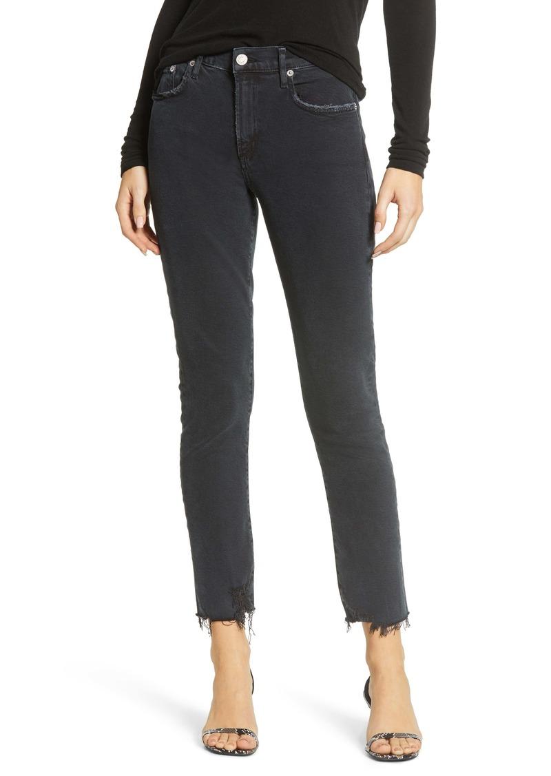 AGOLDE Toni Fray Hem Straight Leg Jeans (Feral)