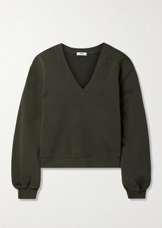 Agolde Cotton-jersey Sweatshirt