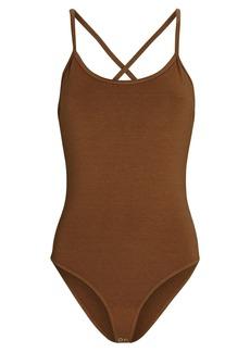 Agolde Dhalia Scoop Neck Cami Bodysuit