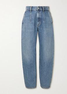Agolde Net Sustain Balloon Organic High-rise Straight-leg Jeans
