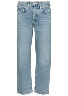 Agolde Parker high-rise straight jeans