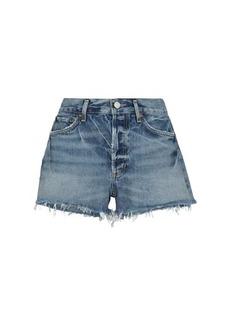 Agolde Parker mid-rise denim shorts