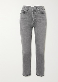 Agolde Riley High-rise Straight-leg Jeans