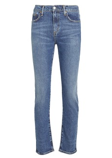 Agolde Toni High-Rise Straight Jeans