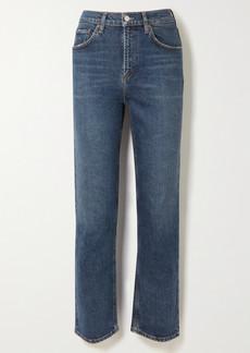 Agolde Net Sustain Wilder Mid-rise Organic Straight-leg Jeans