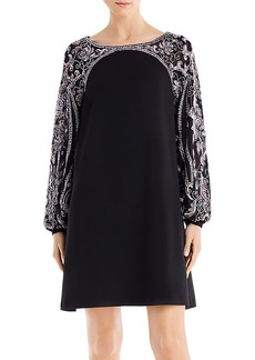 Aidan Mattox Embellished Mini Shift Dress - 100% Exclusive