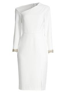 Aidan Mattox Asymmetrical Cocktail Dress