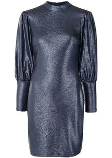 Aidan Mattox puff-shoulder mini dress