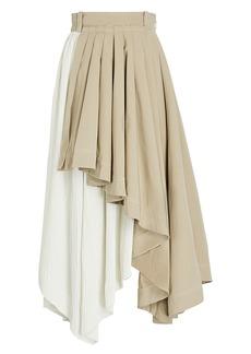 Aje Consonance Asymmetrical Midi Skirt
