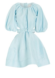 Aje Mimosa Puff Sleeve Mini Dress