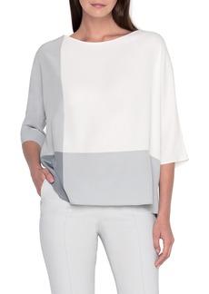 Akris 1/2-Sleeve Tunic