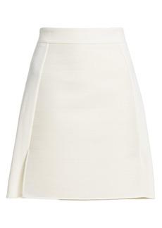 Akris A-Line Wool Skirt
