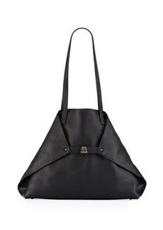 Akris Ai Medium Leather Shoulder Bag