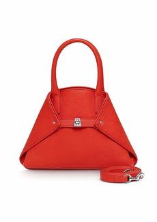 Akris Ai Mini Cervo Leather Messenger Bag