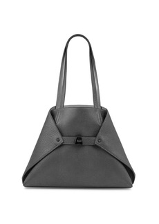 Akris Ai Small Convertible Leather Tote